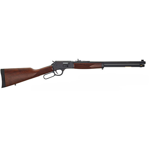 """Henry Repeating Arms Big Boy Steel Lever Action, Side Gate, 357 Magnum, .38 Special, 20"""" Barrel, Walnut Stock 10Rd"""