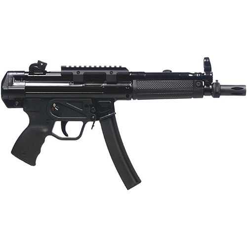 "Century Arms, AP5, Semi-automatic, 9mm, 8.9"" Barrel, Roller-Lock Action, Black Color, 30Rd, 2 Magazines"