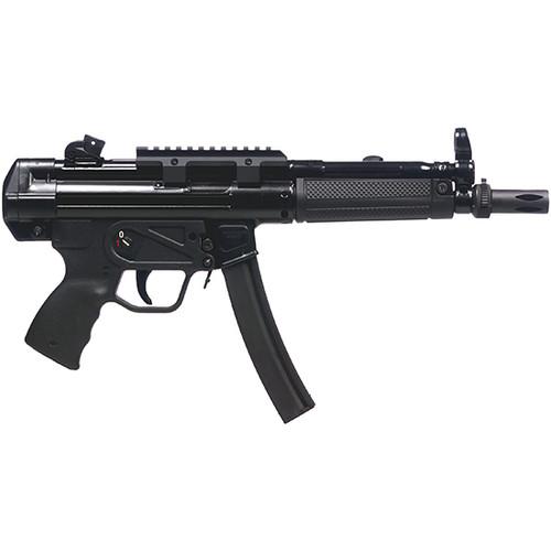 "Century Arms, AP5, Semi-auto MP-5 Type 9mm, 8.9"" Barrel, Roller-Lock Action, Black Color, 30Rd, 2 Magazines"