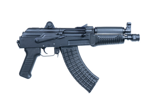 "Arsenal SAM7K-34 AK Pistol 7.62x39mm, 8.5"" Barrel, No Stock, Polymer, Black, Ships w/ 5rd Mag"