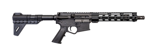 "2nd Amendment 2A-15 AR-15 Pistol 5.56/.223, 10.5"" Barrel, Blade Brace, M-LOK, Black, 30rd Mag"