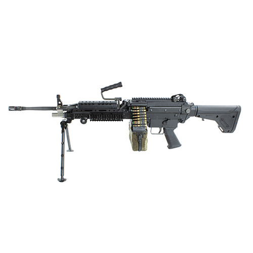 "Infantry Defense Systems Multimax SAW 5.56 Belt Fed, Closed Bolt, Semi Auto 16"" Barrel, Ships In Trunk Case"