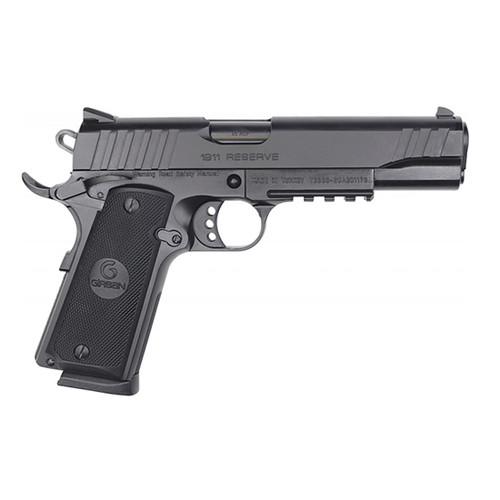 "EAA Girsan MC1911S Reserve .45 ACP, 5"" Barrel, 3-Dot Sights, Black, 8rd"