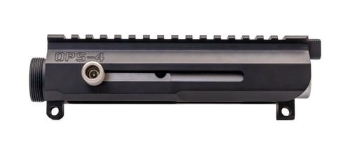 LAR OPS-4 Side Charging Upper Receiver, NiB Bolt, Black