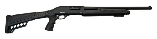 "Gforce GFPG3 Pump-Action 12 Ga, 20"" Barrel, 3"", Pistol Grip, Polymer, Black, 4rd"