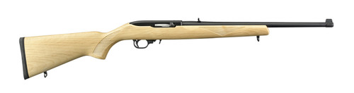 "Ruger 10/22  Maple Sporter .22 LR, 18.5"" Barrel, Satin Black, 10rd"