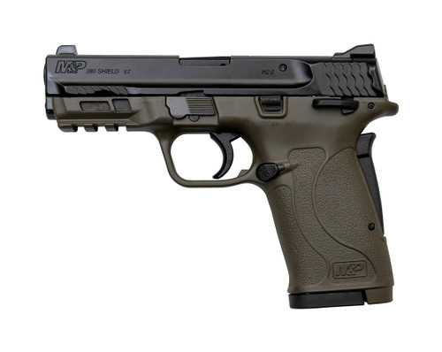 "Smith & Wesson M&P Shield EZ .380 ACP, 3.6"" Barrel, 3-Dot Sights, Patriot Brown, 8rd"