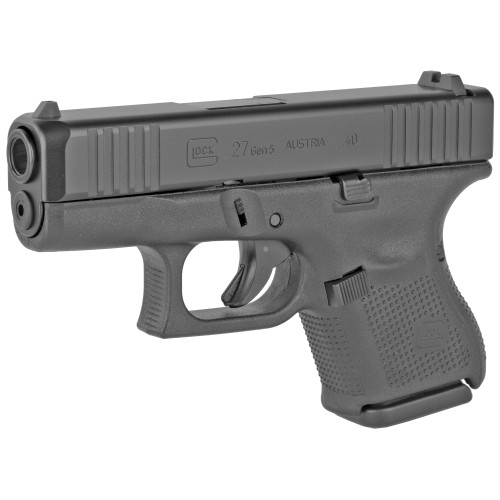 "Glock 27 Gen5 AUS Sub Compact .40 S&W, 3.43"" Barrel, Fixed Sights, Black, 9rd"