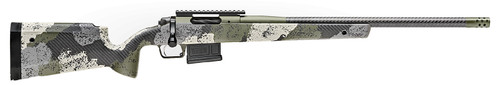"Springfield Model 2020 Waypoint 6.5 Creedmoor, 22"" Barrel, OD Green/Evergreen Camo, 5rd"