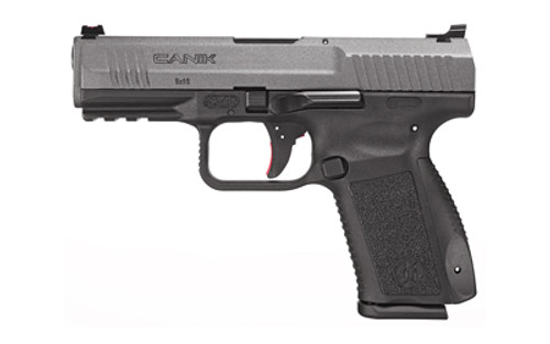 "Canik TP9SF Elite 9mm, 4"" MG Barrel, Warren Tactical Sights, Tungsten, 10rd"