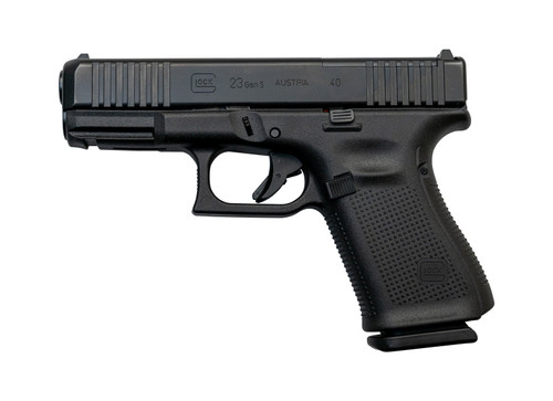 "Glock 23 Gen5 MOS AUS .40 S&W, 4"" Barrel, Fixed Sights, Black, 13rd"