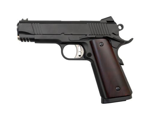 "Fusion 1911 Riptide 9mm, 4.25"" Barrel, Novak Sights, Red Cocobolo Grips, 10rd"