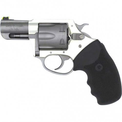 "Charter Arms 'The Boxer' .38 Special, 2.2"" Barrel, Black Grips, Anodized, 6rd"