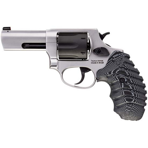 "Taurus 856 Defender .38 Special +P, 3"" Barrel, VZ Grip, Black/SS, 6rd"