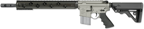"Rock RIver LAR-15 Fred Eichler Series Light Predator 2L 5.56/223 16"" LW Fluted Barrel Gun Metal Gray Finish 20 Rd Mag"