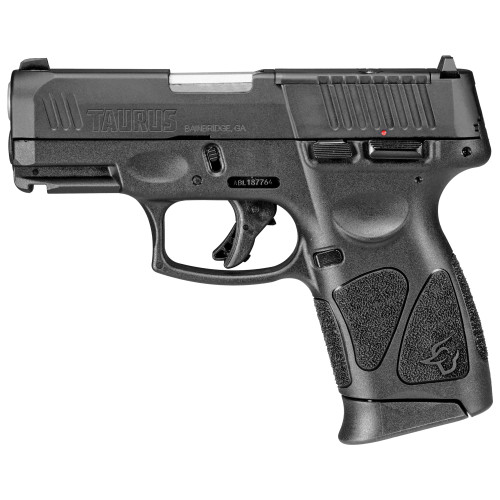 "Taurus, G3C, T.O.R.O. (Taurus Optic Ready Option) Compact 9mm, 3.26"" Barrel, Polymer Frame, Manual Safety, Optic Ready, 12Rd, 3 Magazines"