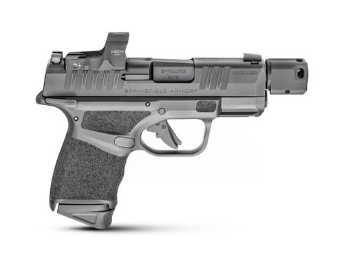 "Springfield Hellcat RDP 9mm, 3.8"" Barrel, Hex Wasp, Compensator, Manual Safety, Black, 11rd/13rd"