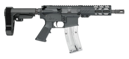 "Rock River Arms LAR-22 .22 LR, 9"" Barrel, Polymer Upper/Lower, SBA3, Black"