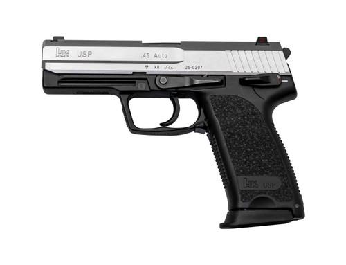 "HK USP Used .45 ACP, 4.41"" Barrel, DA, Stainless/Black, 12rd"