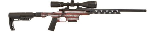 "Howa Mini EXCL Lite 7.62x39mm, 20"" TB, GamePro Scope, Folding HTI Stock, American Flag Cerakote, 5rd"