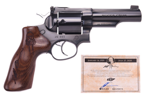"Ruger GP100 Jeff Quinn Limited Edition .44 Special, 4.2"" Barrel, Hogue Walnut Grips, Polished Blued, 5rd"