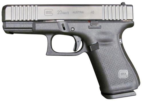 """Glock 23 Gen5 .40 S&W, 4.02"""" GMB, Fixed Sights, Black, 10rd"""