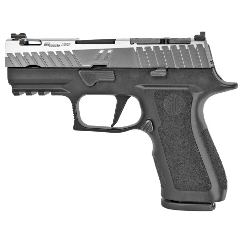 "ZEV Technologies Z320 XCompact Octane Gun Mod, 9mm, 3.6"" Barrel, Optics Ready, Black/Titanium, 15rd"