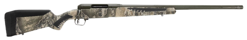 """Savage, 110 Timberline, Bolt, Rifle, 6.5 Creedmoor, 22"""" Threaded Barrel, Omni-Port Muzzle Brake, Olive Drab Green Cerakote Finish, Realtree Excape AccuFit Polymer Stock, AccuTrigger, Right Hand, 4Rd"""
