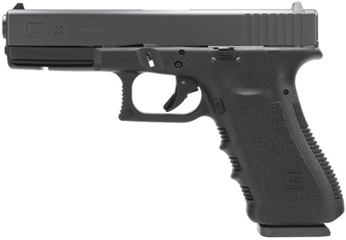 """Glock G22 .40 S&W, 4.49"""" Barrel, Fixed Sights, Black, 15rd"""