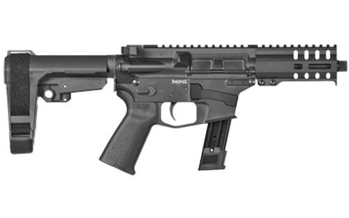 "CMMG Banshee 300 MK17 9mm, 5"" Barrel, CMMG RipBrace, Black, 21rd"