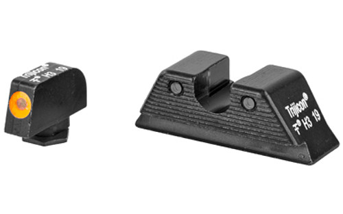 Trijicon HD XR Night Sight Set MOS Fit, Orange Front Outline for Glock Models