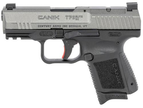 """Canik TP9 Elite SC 9mm, 3.6"""" Barrel, Contrast Sights, Tungsten Slide, 12rd"""