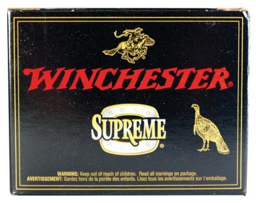 "Winchester Supreme Double X Turkey 12 Ga, 3.5"", 2-1/4oz, 4 Shot, 10rd/Box"