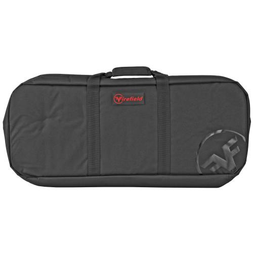 "Firefield Carbon Series, Covert SBR/AR-15 Pistol Case, Black, 28""x3""x11"" Velcro Adjustable Strap"
