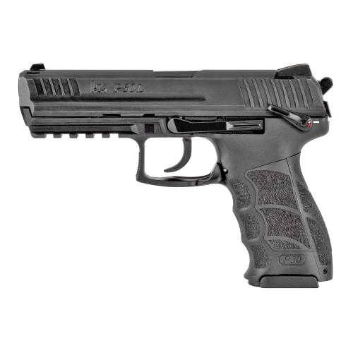 "HK P30LS V3 .40 Smith & Wesson, 4.45"" Barrel, Thumb Safety, Decocker, Black, 13rd"