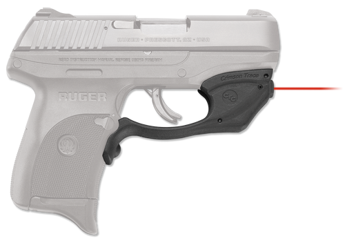 Crimson Trace Laserguard For Ruger EC9s/LC9/LC9s/LC380, Trigger Guard, Red Laser, Black