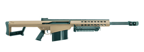 "Barrett 82A1 .50 BMG, 20"" Fluted Barrel, Monopod Included, Flat Dark Earth, 10rd"