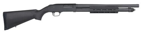 """Mossberg 590A1 12 Ga, 18.5"""" Heavy Wall Barrel, 3"""", M-LOK Forend, Black, 6rd"""