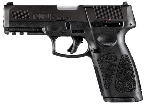 """Taurus G3 T.O.R.O. 9mm, 4"""" Barrel, Fixed Front/Adj. Rear, Manual Safety, Black, 17rd"""