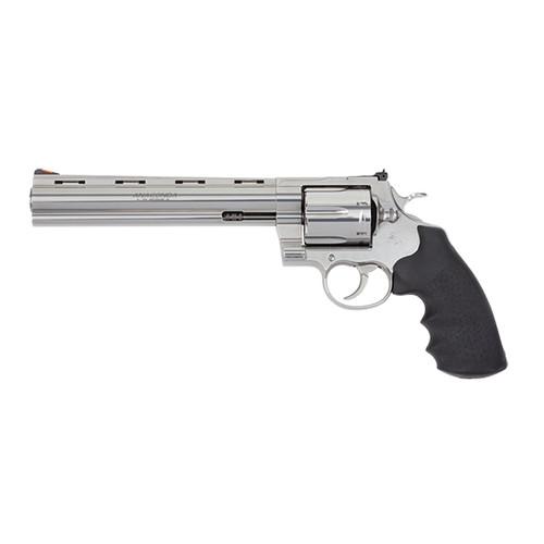 "Colt Anaconda .44 Magnum, 8"" Barrel, Hogue Grip, Stainless Steel, 6rd"