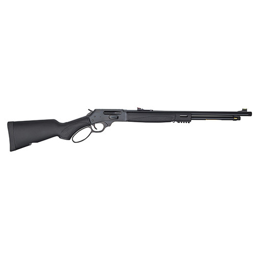 """Henry Repeating Arms, Lever Action X Model, 30-30 Winchester, 21"""" Barrel, Adjustable Sights, Blued, Synthetic Stock, 5Rd"""