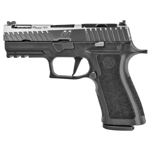 "Zev Z320 XCarry Octane Gun Mod 9mm, 3.9"" Barrel, Optics Ready, Titanium/Black, 17rd"
