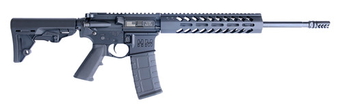 "HM Defense GuardianF5 5.56/.223, 16"" Barrel, CQB Stock, M-LOK, Black, 30rd"
