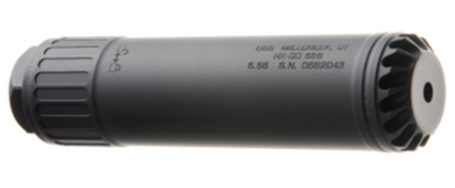 "OSS HX-QD 556 5.56/.223, 6.4"" Length, Flow-Baffle/Flow-Through, Black"