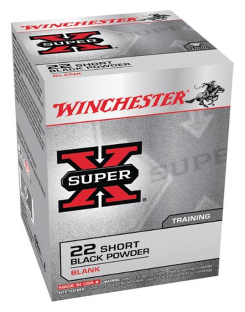 Winchester Super X Blank 22 Short 50Box/100Case - Not Ammo, These Are Blanks