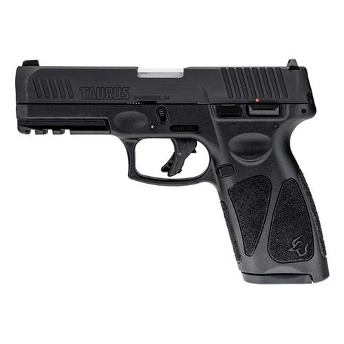 "Taurus G3 9mm, 4"" Barrel, Manual Safety, 3-Dot Sight, Black, 15rd/17rd"