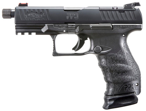 """Walther PPQ M2 Q4 Tactical *Certified Used* 9mm, 5"""" TB, Black, 15rd"""