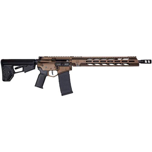 "Diamondback DB15 AR-15 5.56mm/223 16"" Barrel Midnight Bronze Black Nitride Adjustable Magpul ACS-L Stock Black Magpul MOE-K2+ Grip 15"" M-LOK"