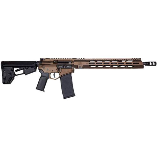 "Diamondback DB15 AR-15 5.56mm/223 16"" Barrel Midnight Bronze Black Nitride Adjustable Magpul ACS-L Stock Black Magpul MOE-K2+ Grip 15"" M-LOK"