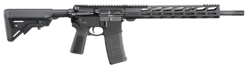 "Ruger AR-556 .223/5.56, 16.1"" Barrel, B5 Bravo Stock, B5 Grip, M-LOK, Black, 30rd"